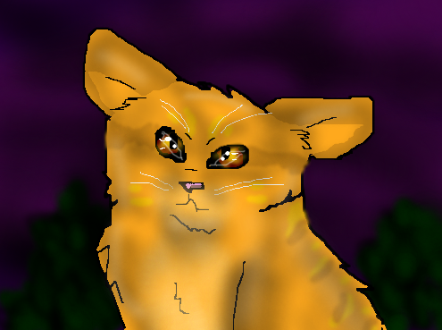 Stormclan Обои possibly with a buttercup and a bouquet entitled Awww Lionblaze!