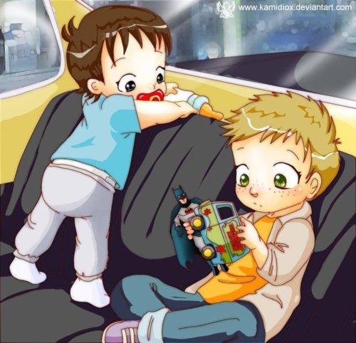 Baby Sam & Dean!