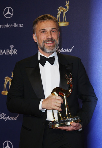Christoph Waltz wallpaper probably containing a business suit titled Bambi 2009 - Show