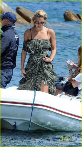 Bar Refaeli: Having A Blast in Sardinia!