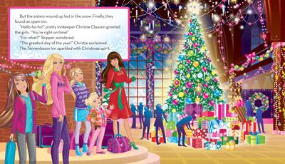 Барби A Perfect Рождество