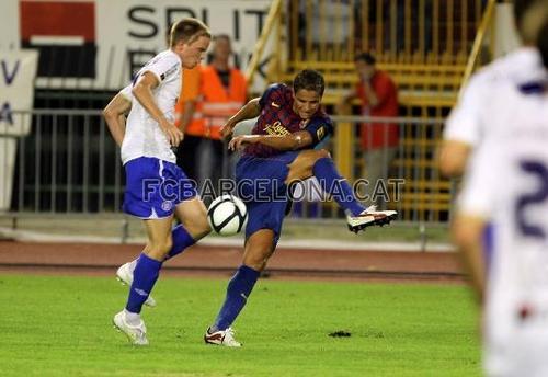 Barcelona vs Hajduk трещина, сплит [0-0] friendly game 23\7\2011