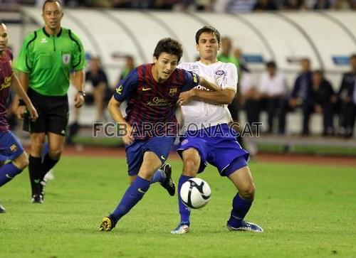 Barcelona vs Hajduk تقسیم, الگ کریں [0-0] friendly game 23\7\2011