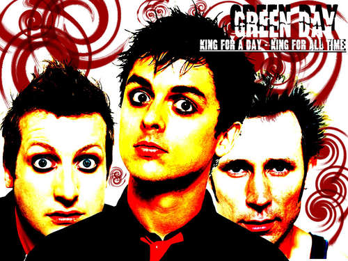 Billie Joe Armstrong wallpaper possibly with anime and a portrait entitled Billie Joe/Green Day. c: