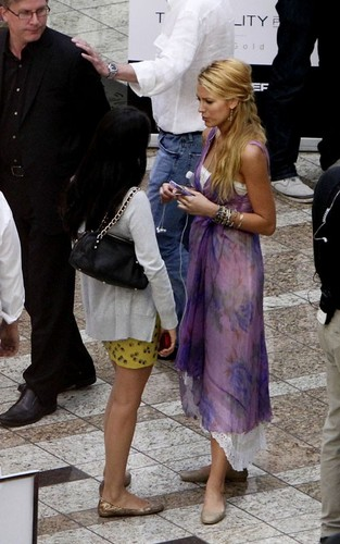 "Blake Lively filming scenes for her new movie ""The Savages"" in Los Angeles (July 25)."