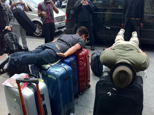 Bruno & Phil Planking