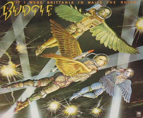 Budgie Album Cover.