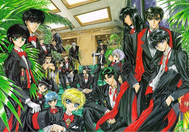 CLAMP images CLAMP IN WONDERLAND HD wallpaper and ... X Clamp Kamui