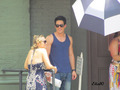 Candice and Michael on set - tyler-and-caroline photo