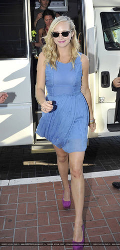 Candice arriving at Comic Con! - 23rd July 2011.