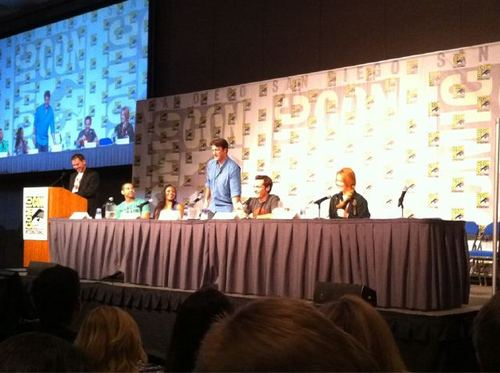 kasteel Cast at Comic Con