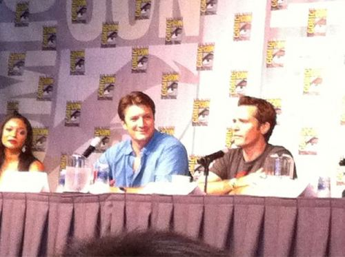 ngome Cast at Comic Con