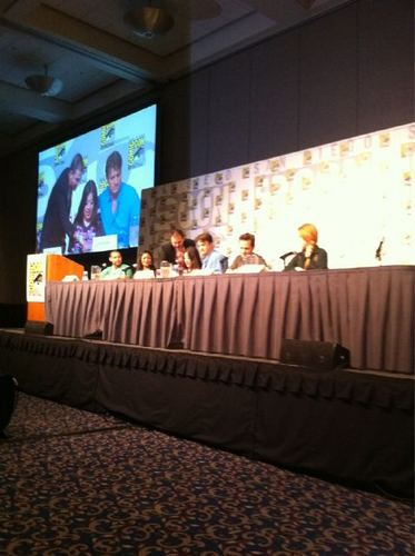 istana, castle Cast at Comic Con