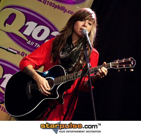 Christina Perri in concierto
