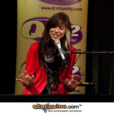 Christina Perri in buổi hòa nhạc