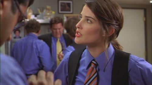 Salmon. Cobie Smulders as Tara in Broken Lizard's 'The Slammin' S...