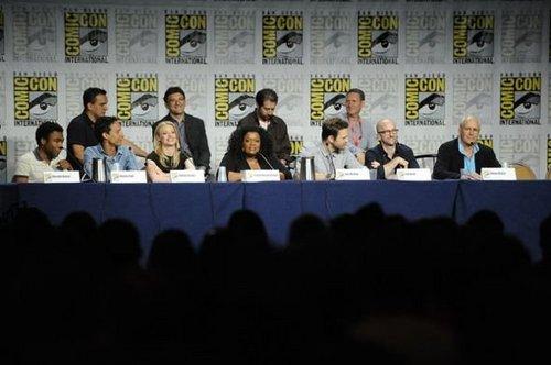 Comic-Con 2011 - Cast foto