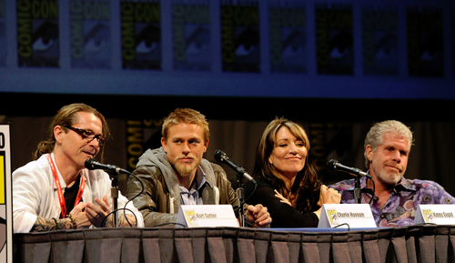 Kurt, Charlie, Katey & Ron at Comic-Con