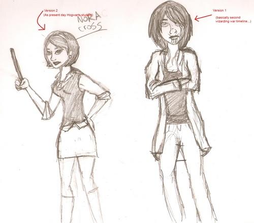 Nora crappy sketches