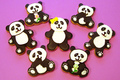 Cute Panda Cookies - cute-food photo