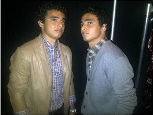Da Silva Twins Rafael and Fabio Manchester United