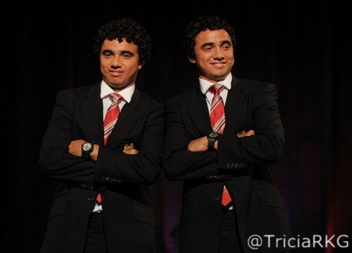 Da Silva Twins Rafael and Fabio da Silva