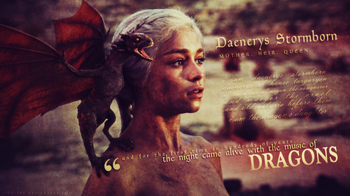 Game of Thrones wallpaper possibly containing a sign, a concert, and a portrait entitled Daenerys Targaryen