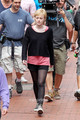Dakota Fanning films her latest film Now is Good in Brighton, UK, July 26 - dakota-fanning photo