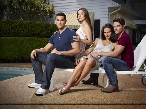 Dallas Tv Show wallpaper with a park bench called Dallas - New Promotional Photo