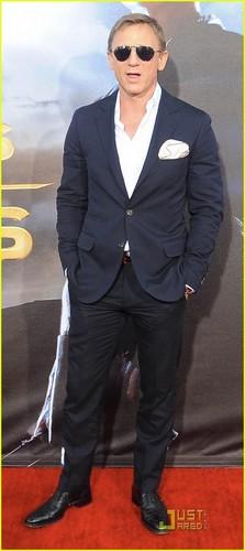 Daniel Craig: 'Cowboys & Aliens' Premiere!