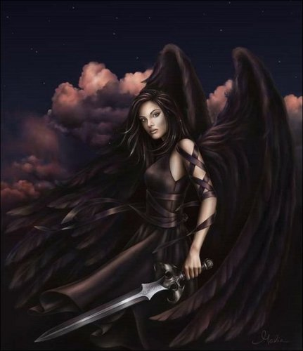 Dark fantasi malaikat
