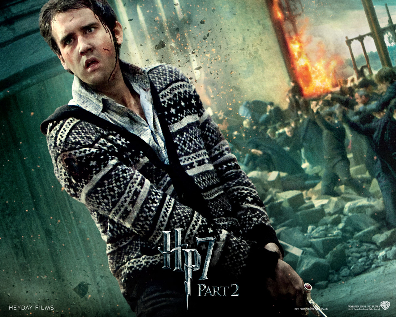 Deathly Hallows Part II Official Wallpapers - Neville ...