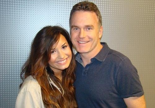 Demi - Visits IHeartRadio Studios - July 22, 2011