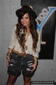 Demi - Visits Y100 Miami Studios - July 25, 2011