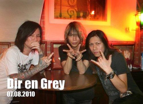 Dir en grey - 2010 foto