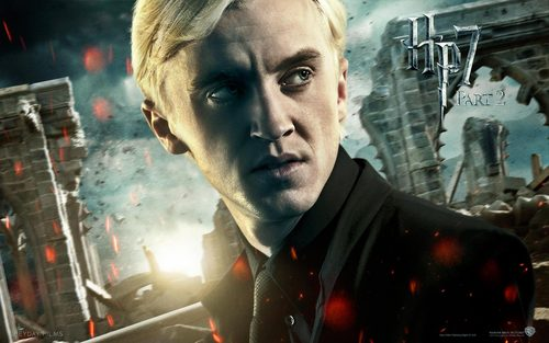 The Guys of Harry Potter wallpaper probably containing a business suit called Draco Malfoy - HP7 p2