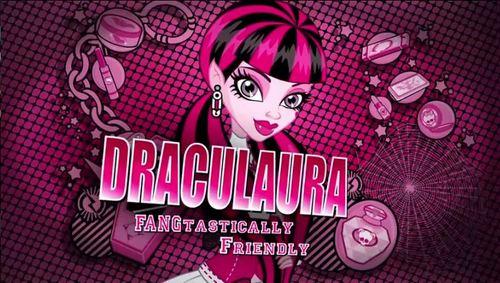 Draculaura karatasi la kupamba ukuta