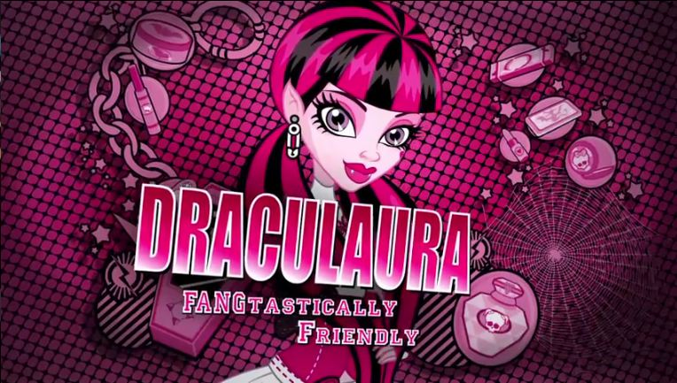 Draculaura achtergrond