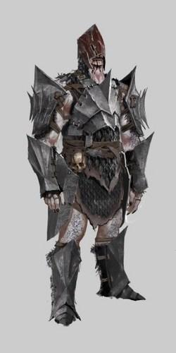Hurlock Alpha Concept Art