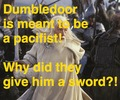 Dumbledore is mean