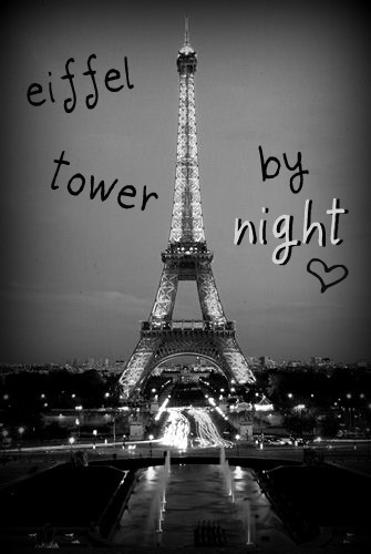 Eiffel Tower by night <3