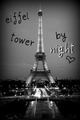 Eiffel Tower by night <3 - paris photo