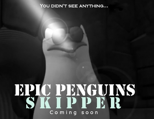Epic Penguins - Skipper Movie Poster