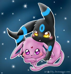 Espeon & Umbreon
