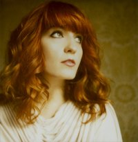 Florence + The Machine Hintergrund containing a portrait titled F+TM