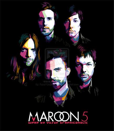 Fan Arts of Maroon 5