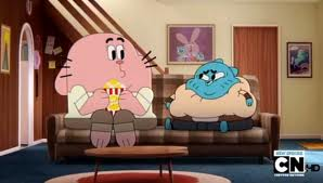 Fat gumball with richard
