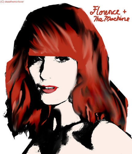 Florence + The Machine fondo de pantalla called Flo
