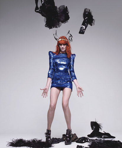 Florence + The Machine Hintergrund possibly with bare legs, hosiery, and a hip boot titled Flo