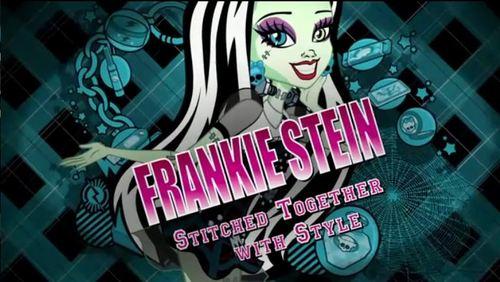 Frankie Stein karatasi za kupamba ukuta